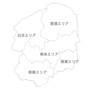 栃木県マップ
