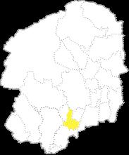 栃木県内における下野市の位置