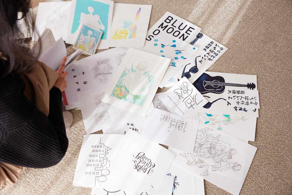 惣田さんの描いたイラスト