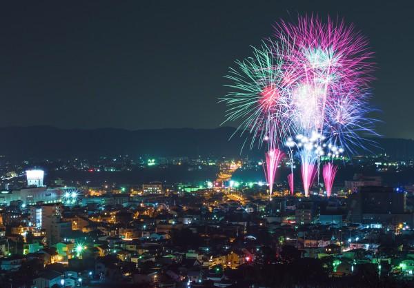 鹿沼さつき祭り協賛『第46回花火大会』